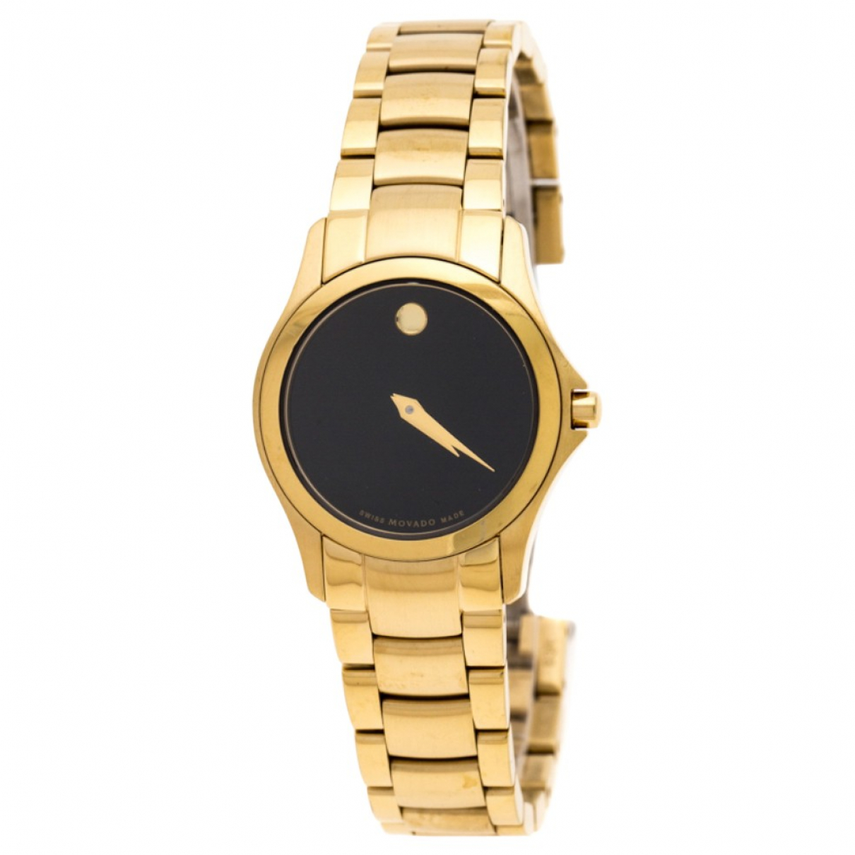 Movado \N Black Gold plated watch for Women \N