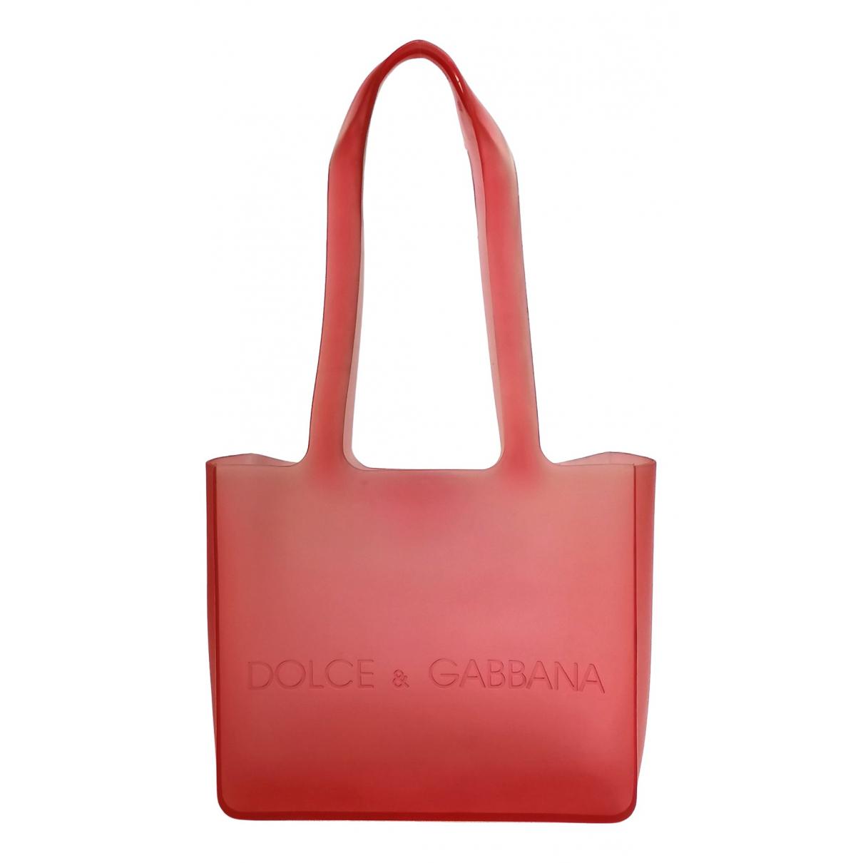 Dolce & Gabbana - Sac a main   pour femme - rouge