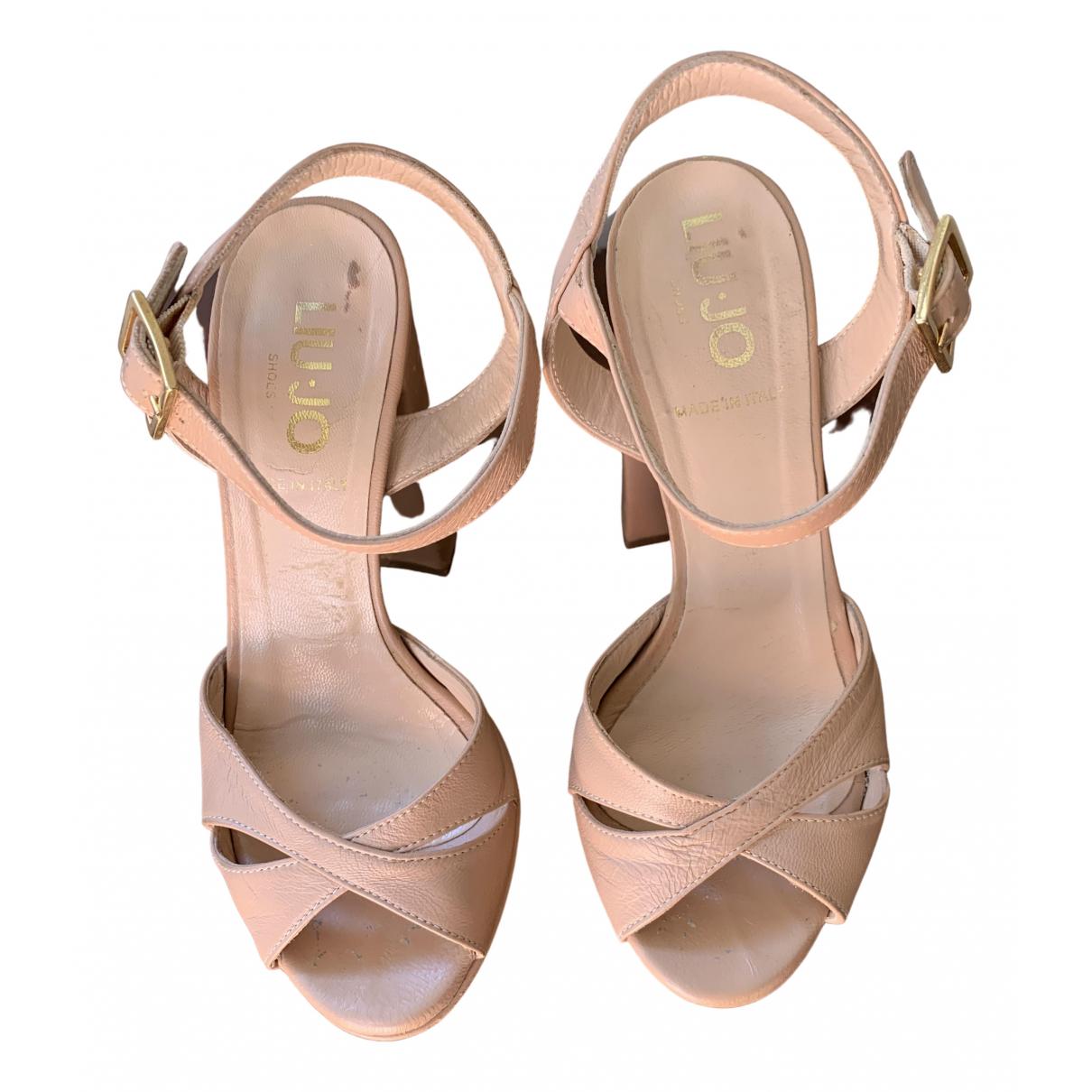 Sandalias de Cuero Liu.jo