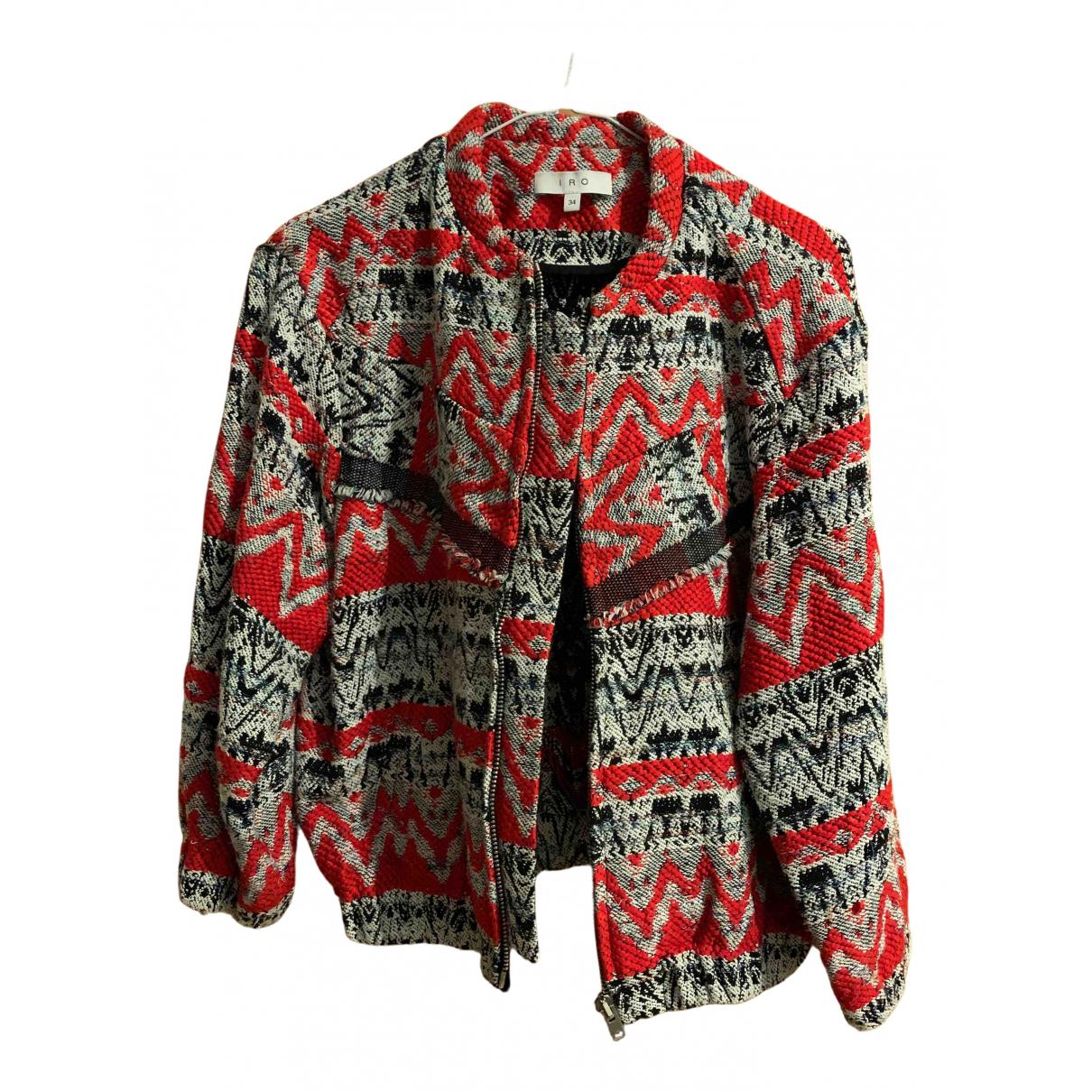Iro \N Jacke in  Rot Tweed