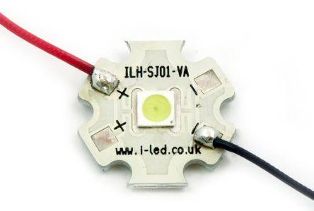 Intelligent LED Solutions ILS ILH-SL01-ICBL-SC201-WIR200., Stanley 1N PowerStar Circular LED Array, 1 White LED (22000K)