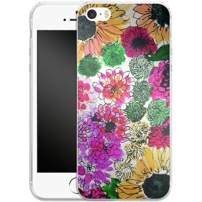 Apple iPhone SE Silikon Handyhuelle - Fiore Sunshine von Amy Sia