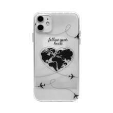 1 Stueck iPhone Huelle mit Herzen Muster