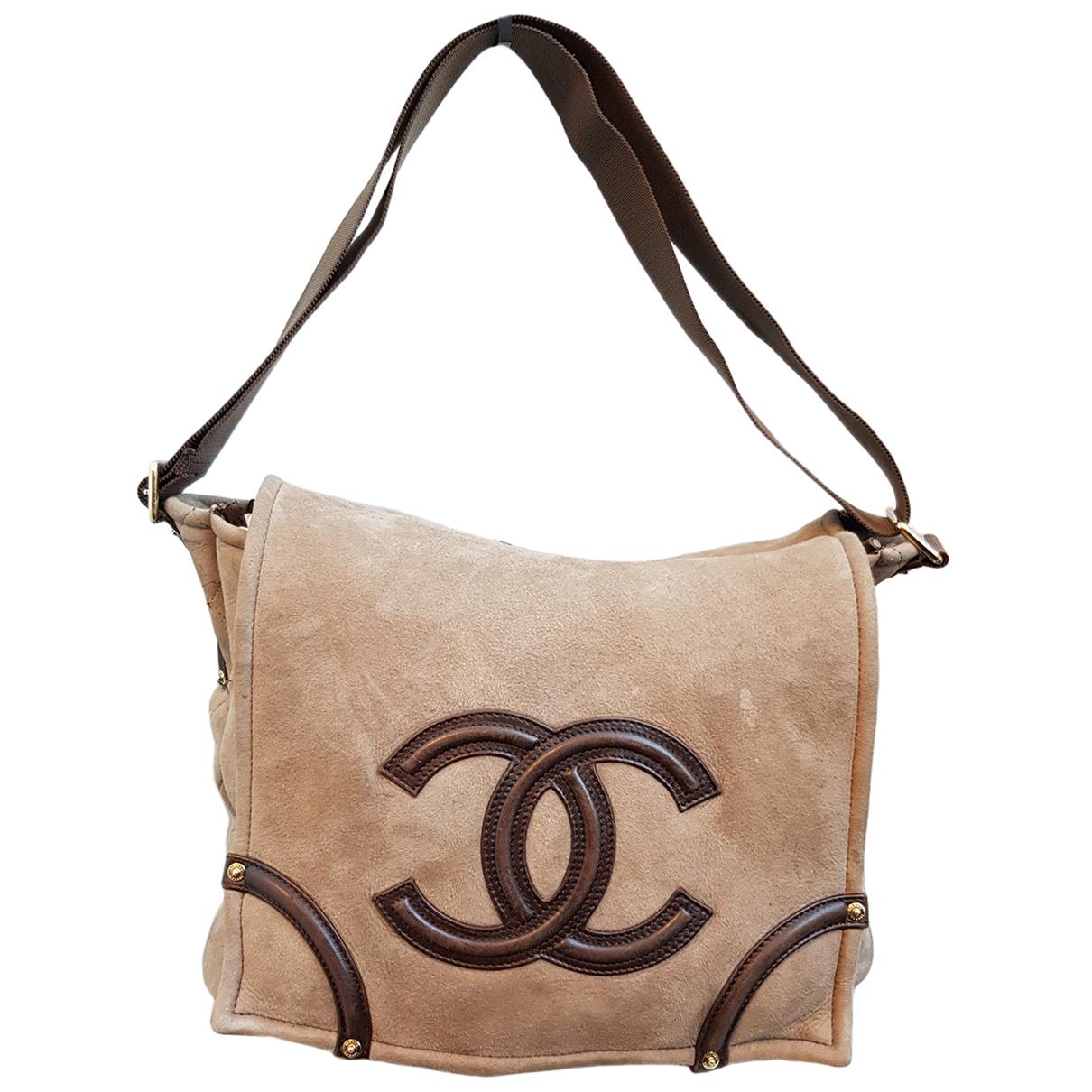 Chanel \N Beige Suede handbag for Women \N