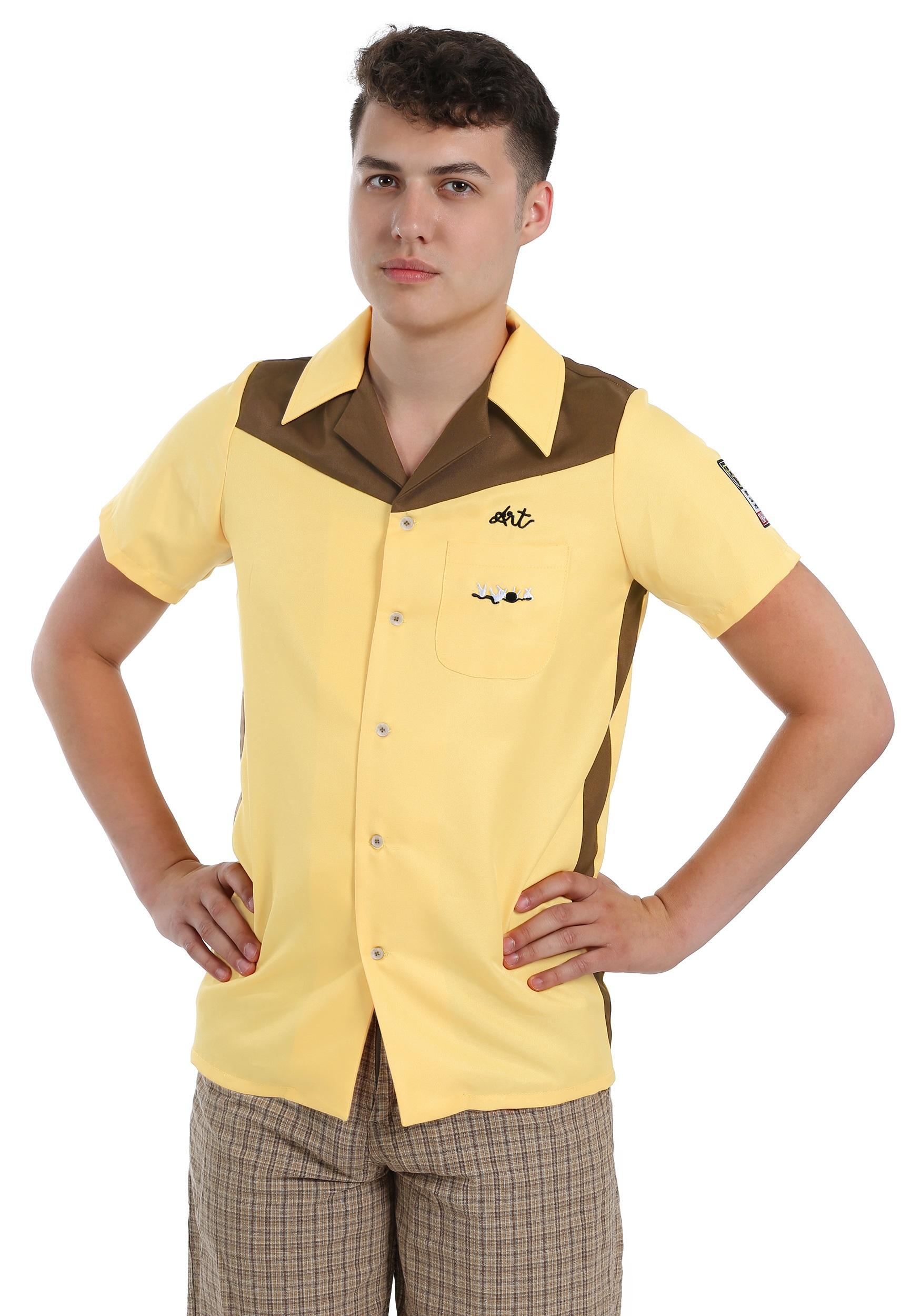 The Big Lebowski Medina Sod Mens Bowling Shirt