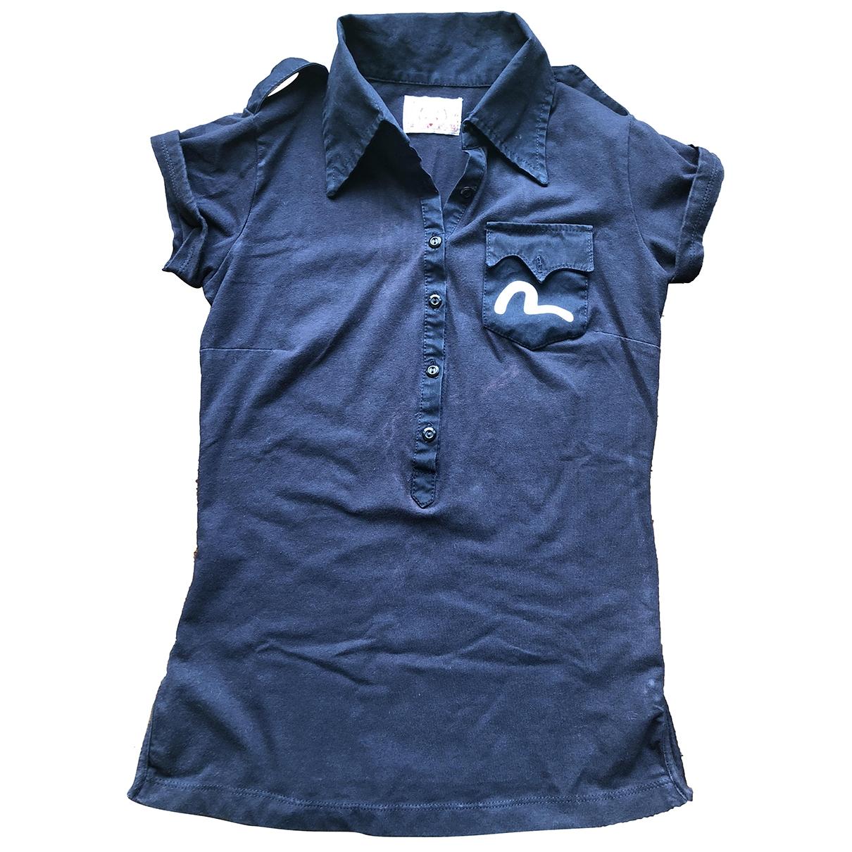 Evisu \N Blue Cotton  top for Women 40 IT