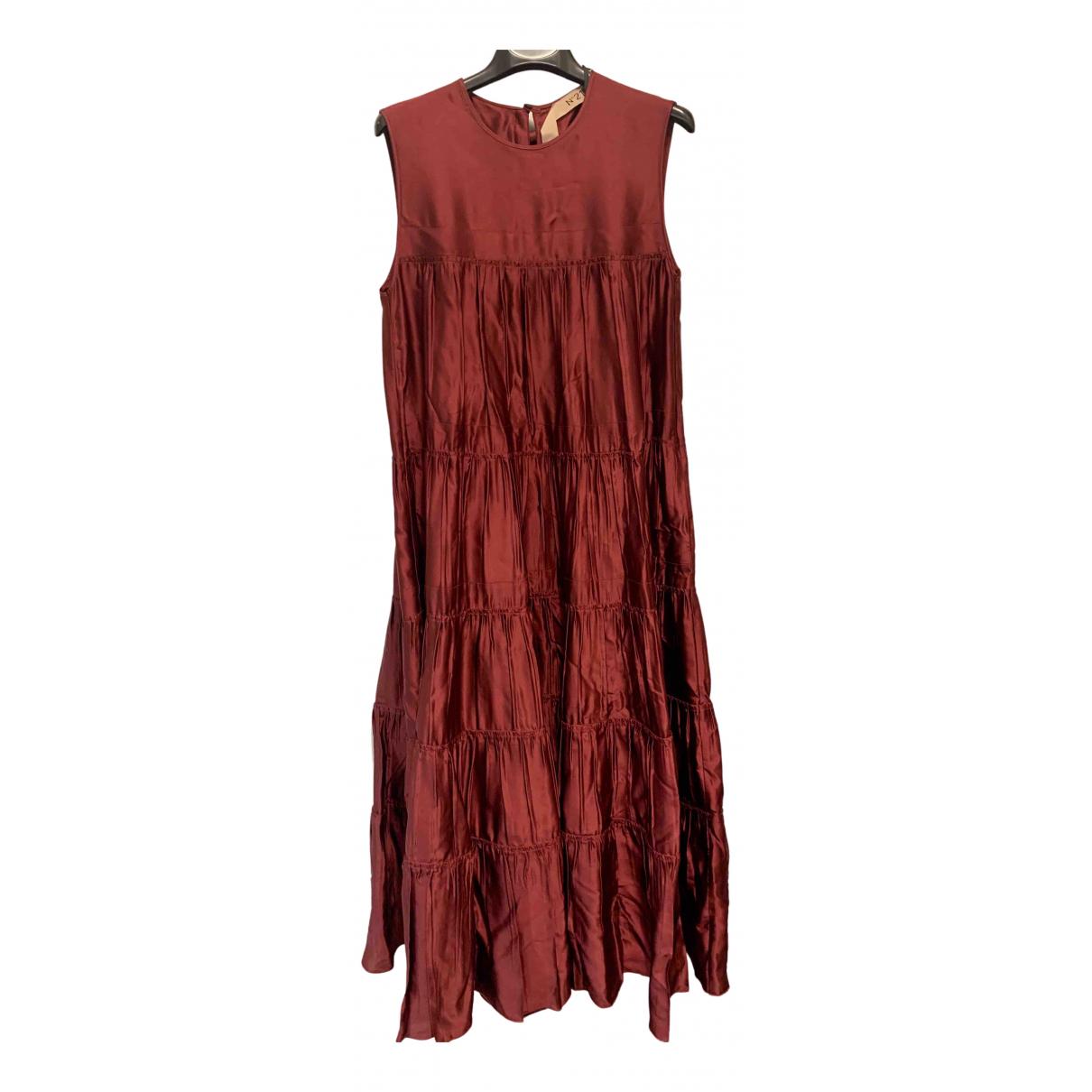 N°21 \N Burgundy dress for Women 40 IT