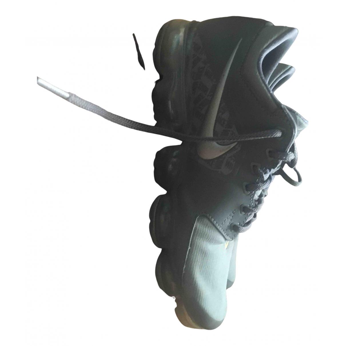 Nike - Baskets Air VaporMax pour homme en toile - gris
