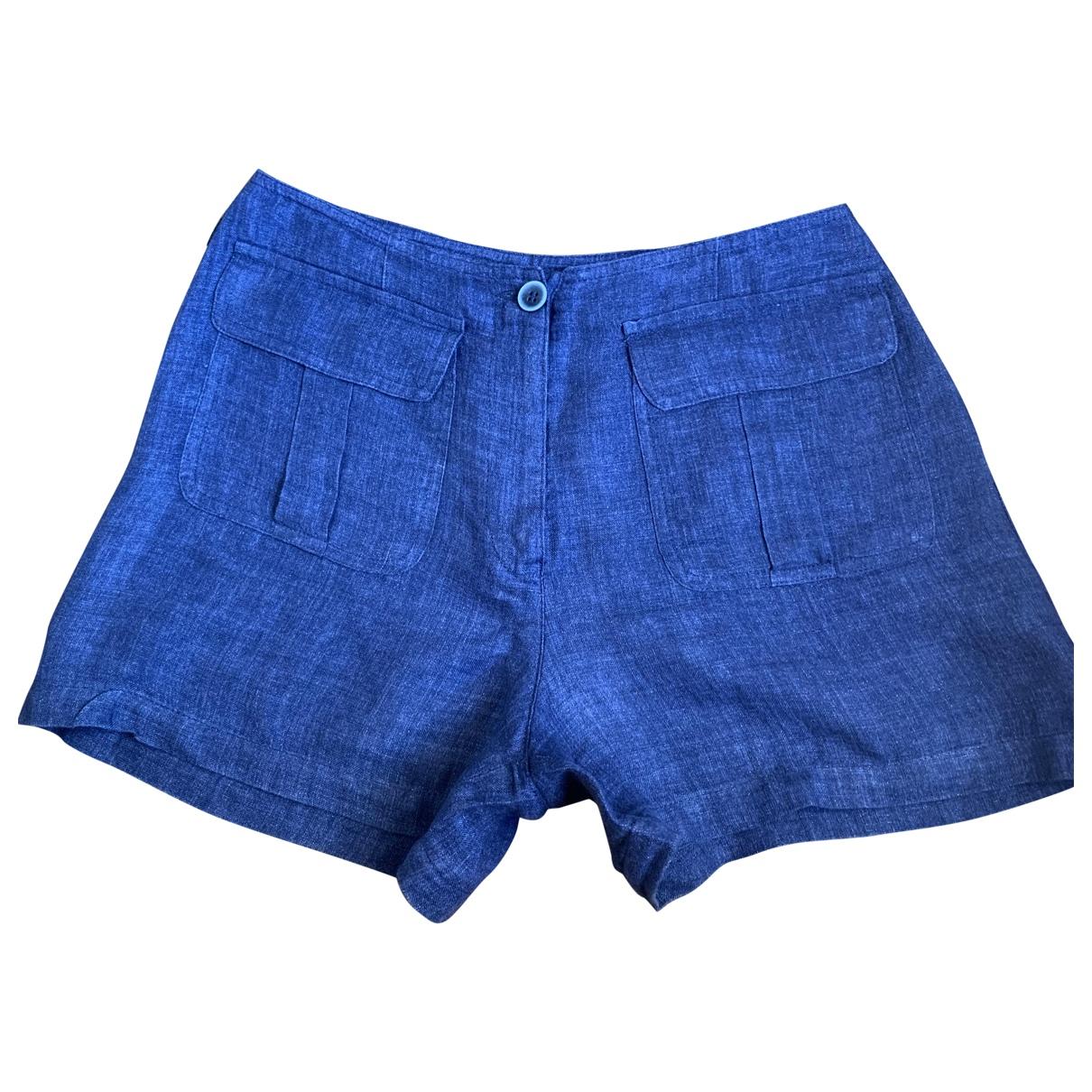 Armani Jeans \N Shorts in  Blau Baumwolle