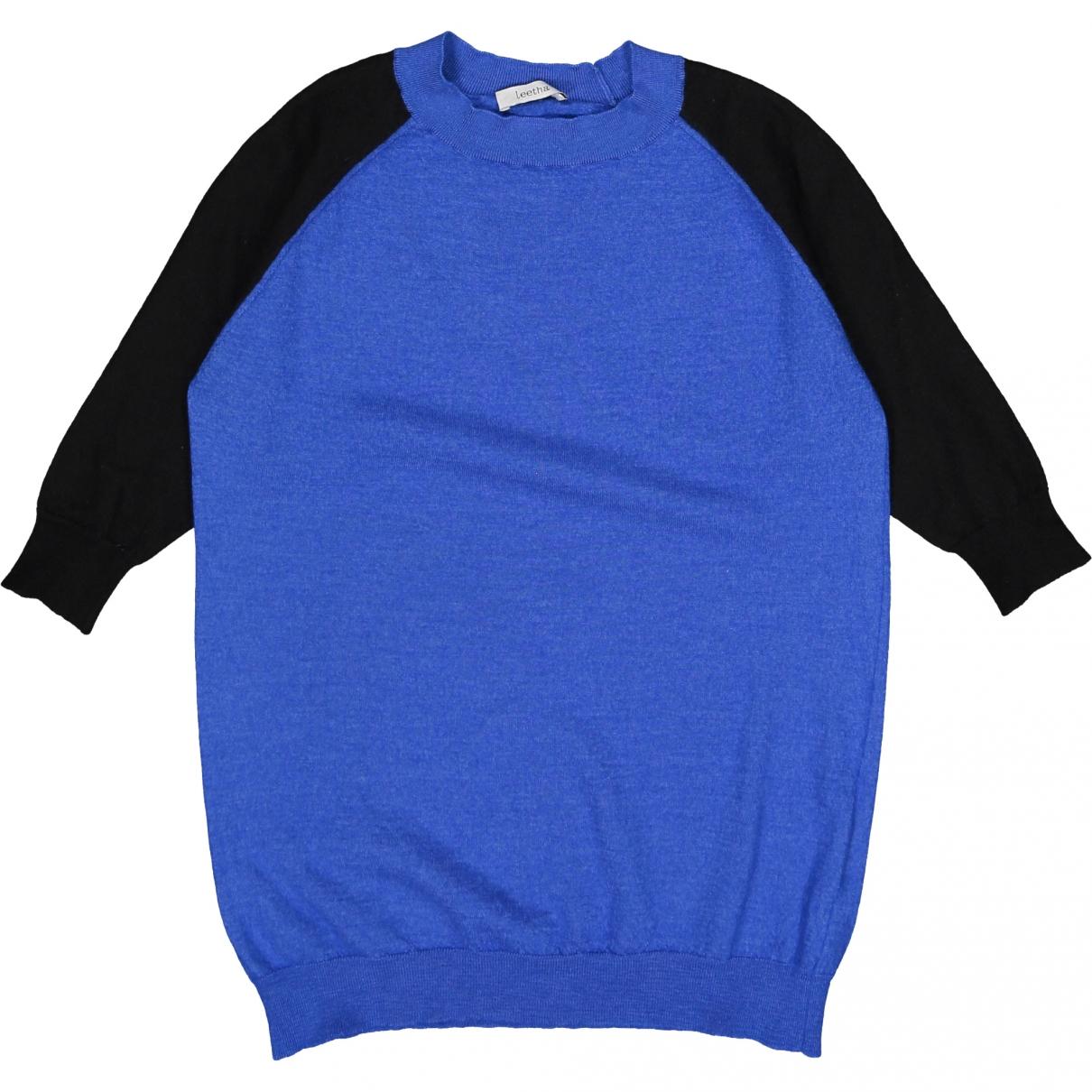 Leetha \N Pullover in  Blau Kaschmir