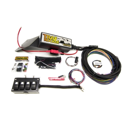 Painless Wiring Trail Rocker Under Dash Accessory Control System (4 Switch) - 57021