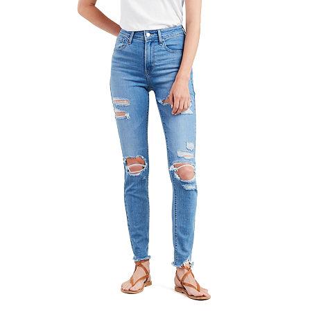 Levi's 721 High Rise Skinny Jeans, 32 , Blue