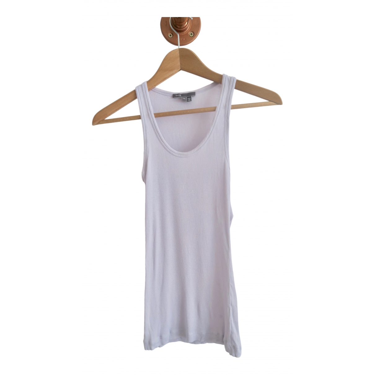 Vince - Top   pour femme en coton - violet
