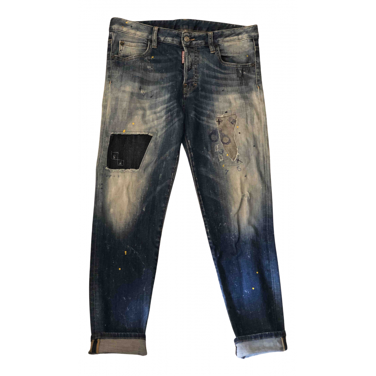 Dsquared2 N Blue Cotton - elasthane Jeans for Women 29 US