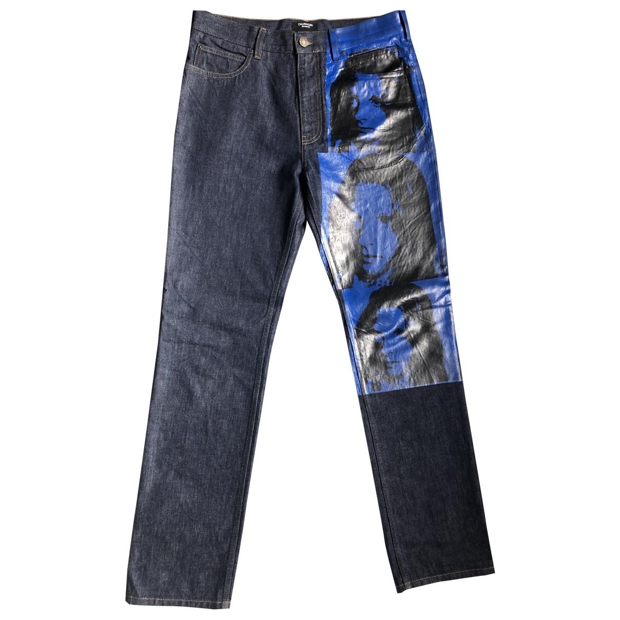 Calvin Klein 205w39nyc \N Jeans in  Blau Baumwolle