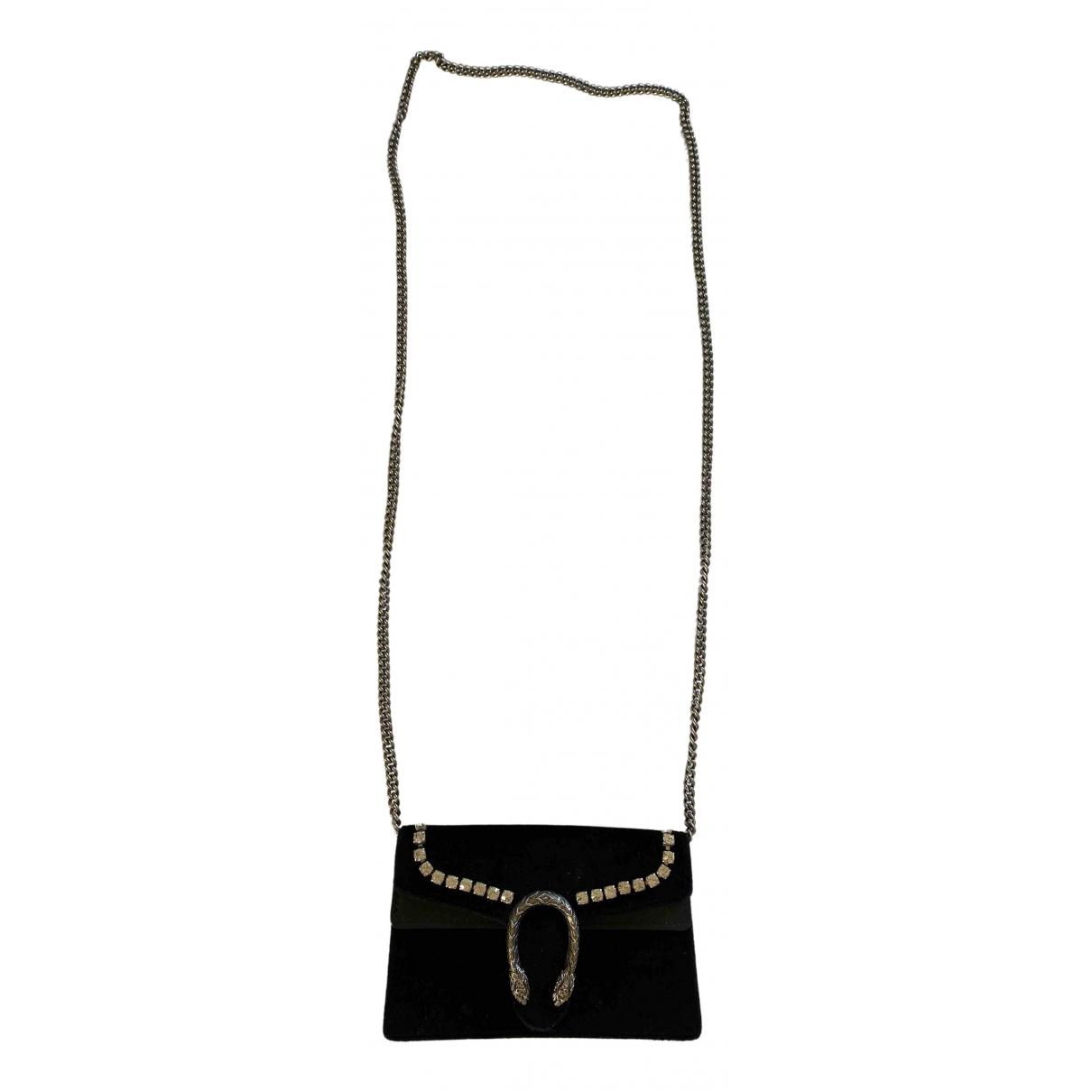 Gucci Dionysus Handtasche in  Schwarz Samt