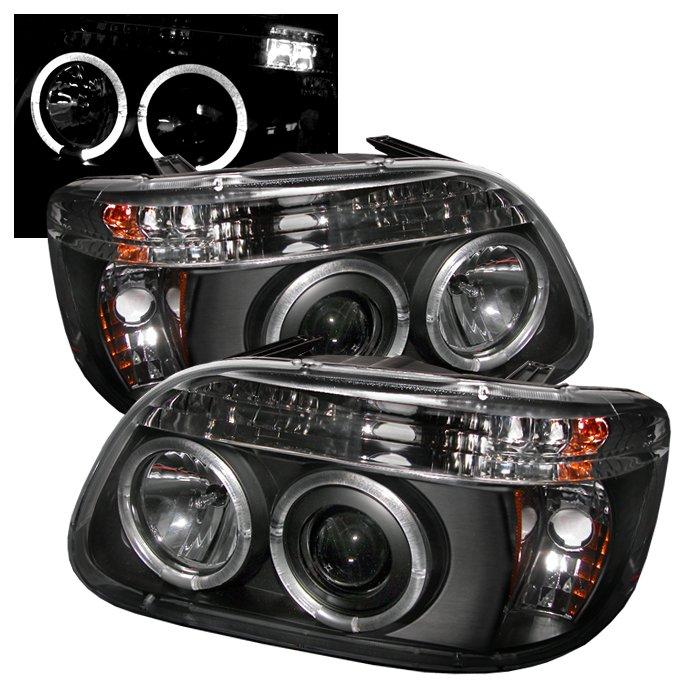 Spyder 1Pc Halo Black Projector HeadLights Ford Explorer 95-01
