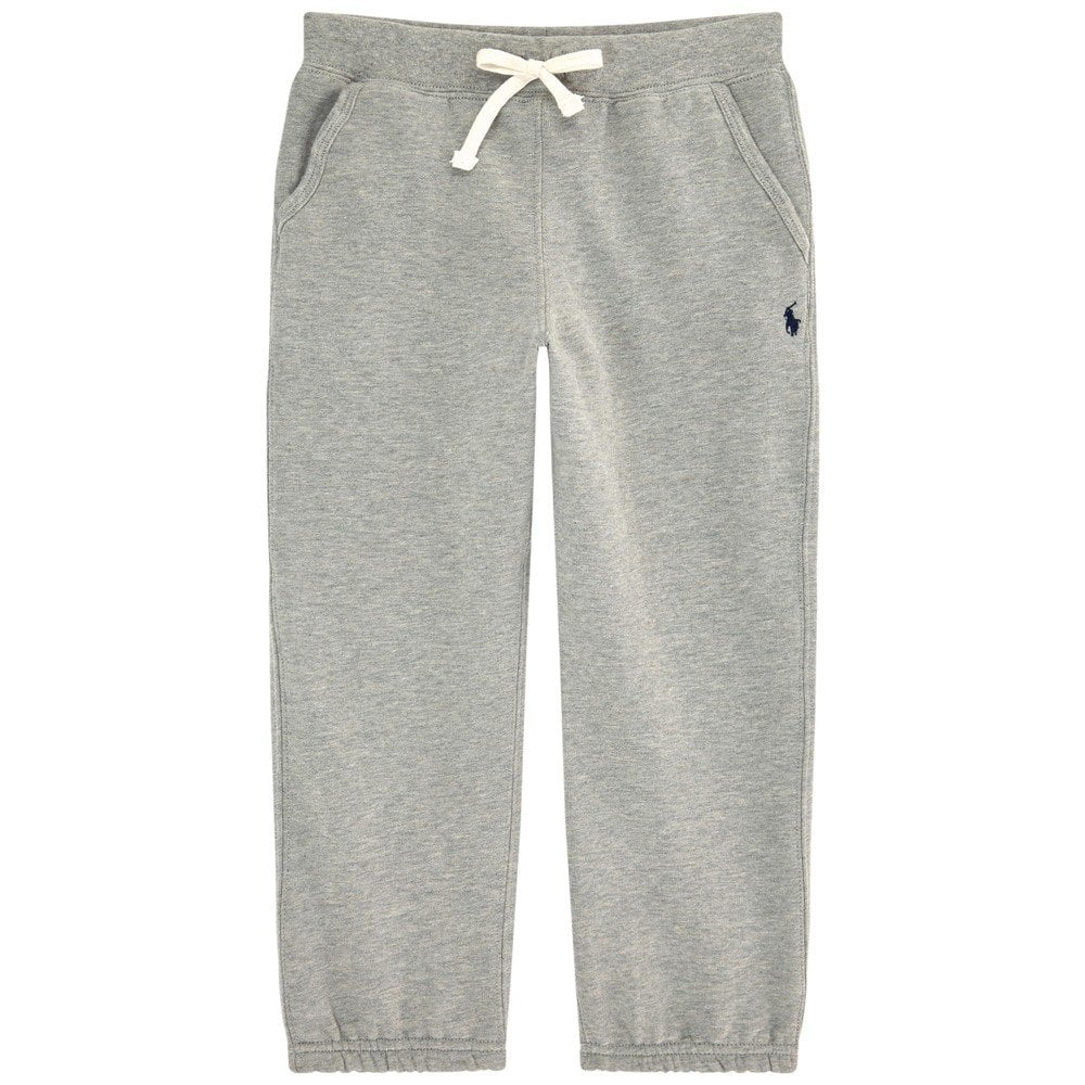 Ralph Lauren Kids Logo Tracksuit Pants Grey Colour: GREY, Size: 10-12 YEARS