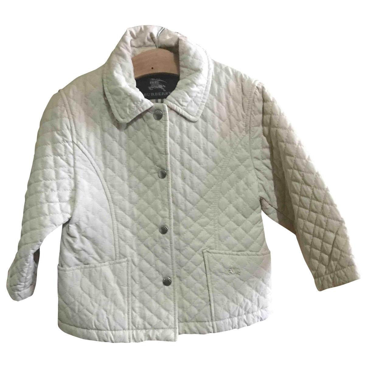 Burberry \N Beige Cotton jacket & coat for Kids 2 years - until 34 inches UK