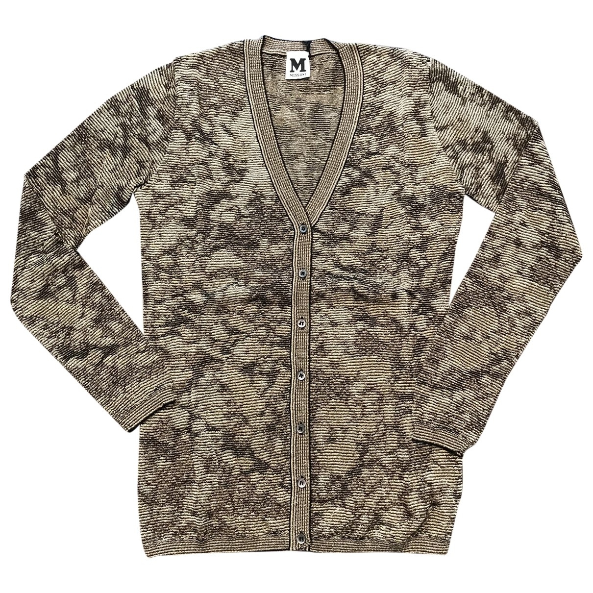 M Missoni \N Khaki Knitwear for Women 40 IT