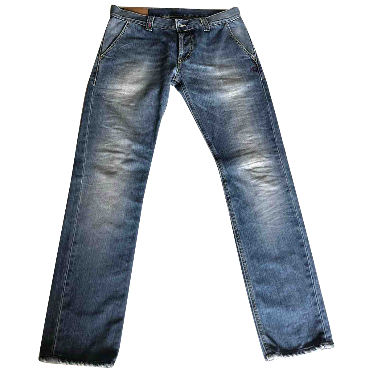 Dondup N Blue Denim - Jeans Trousers for Men M International