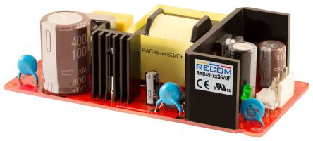 Recom , 48W Embedded Switch Mode Power Supply SMPS, 12V dc, Open Frame