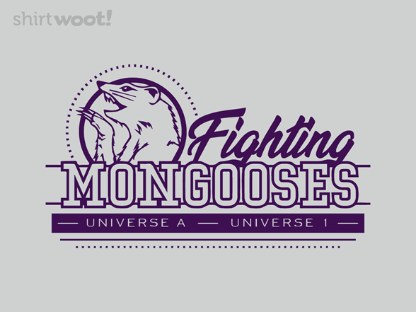 Fighting Mongooses T Shirt