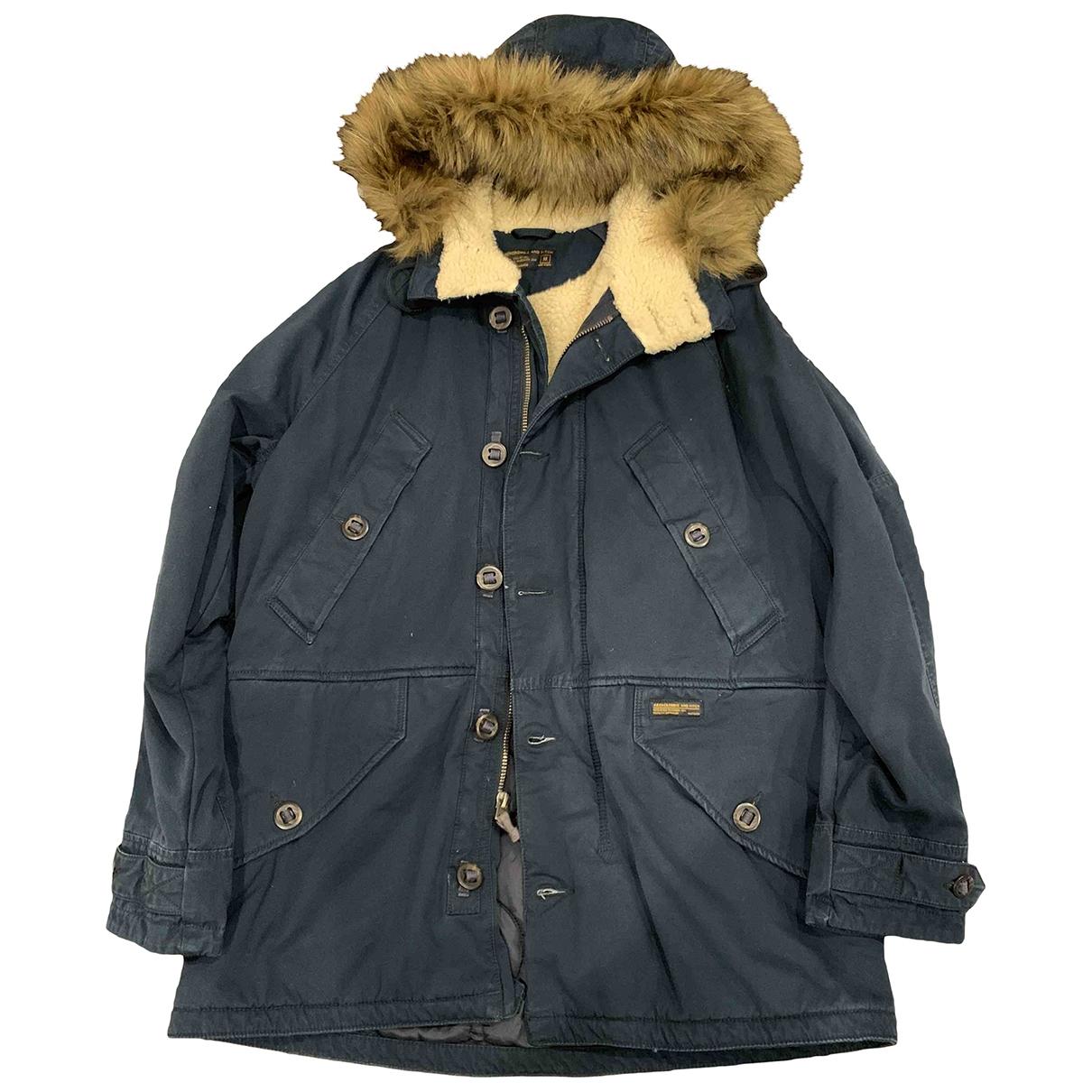 Abercrombie & Fitch \N Blue Cotton jacket  for Men 48 IT