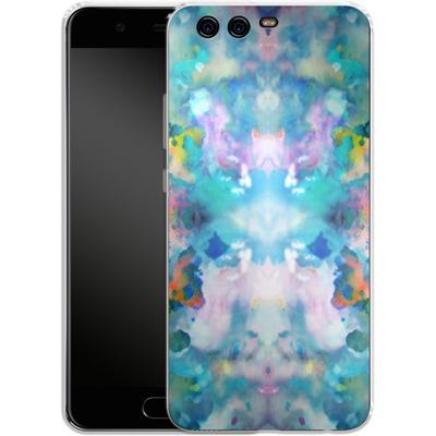 Huawei P10 Silikon Handyhuelle - Paint Splatter von caseable Designs