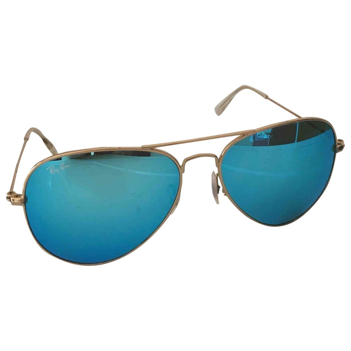 Ray-ban \N Turquoise Metal Sunglasses for Women \N