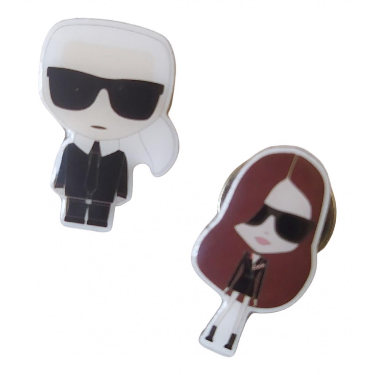 Karl Lagerfeld - Broche   pour femme en metal - argente