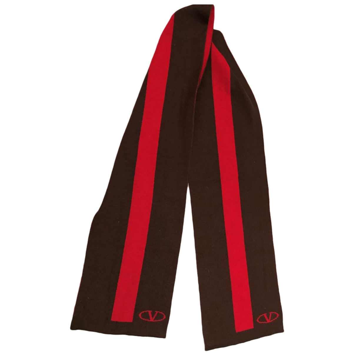 Valentino Garavani \N Red Wool scarf for Women \N
