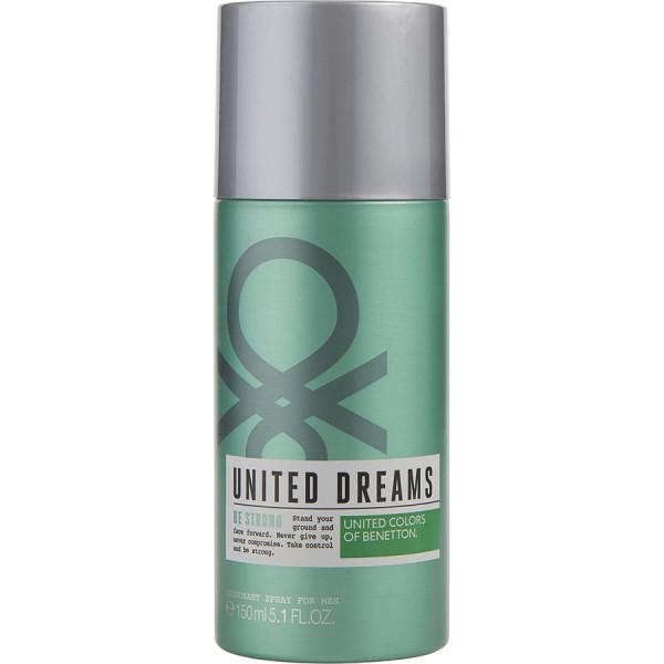 United Dreams Be Strong - Benetton Deodorant Spray 150 ml