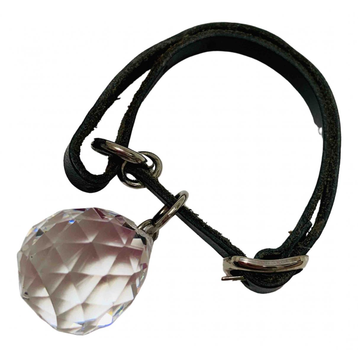Maison Martin Margiela \N Black Leather bracelet for Women \N