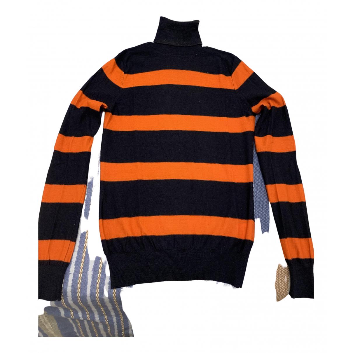 Jean Paul Gaultier \N Pullover in  Orange Wolle