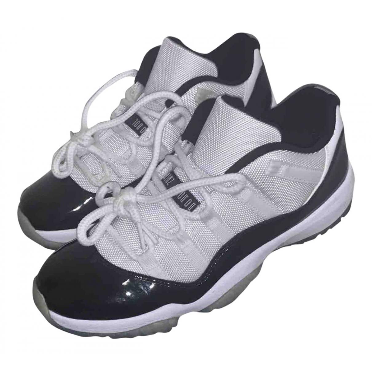 Jordan - Baskets Air Jordan 11 pour homme en toile - noir