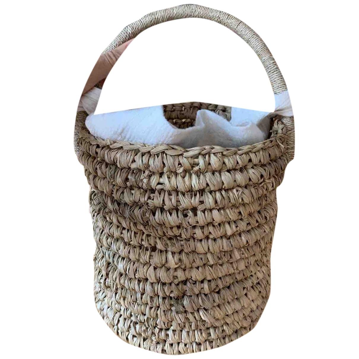 Faithfull The Brand \N Handtasche in Stroh