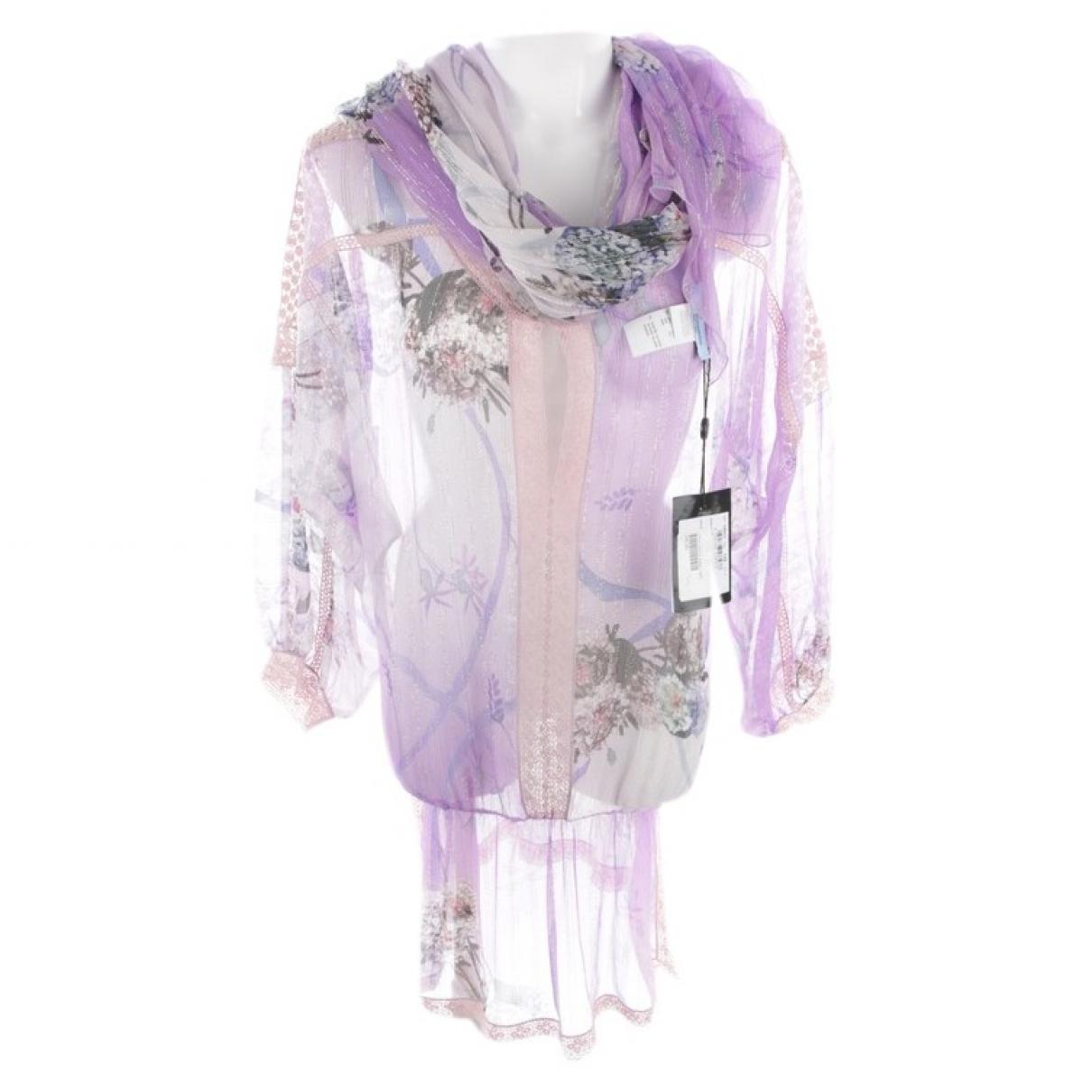 Blumarine \N Kleid in  Lila Leder