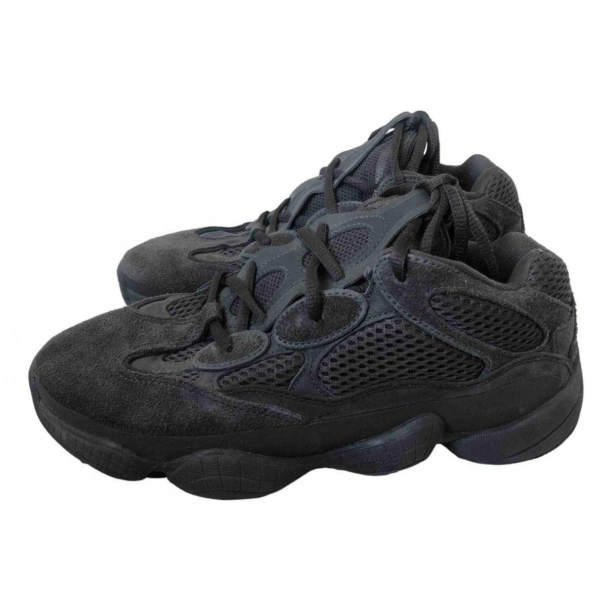 Yeezy X Adidas - Baskets 500 pour femme en cuir - gris
