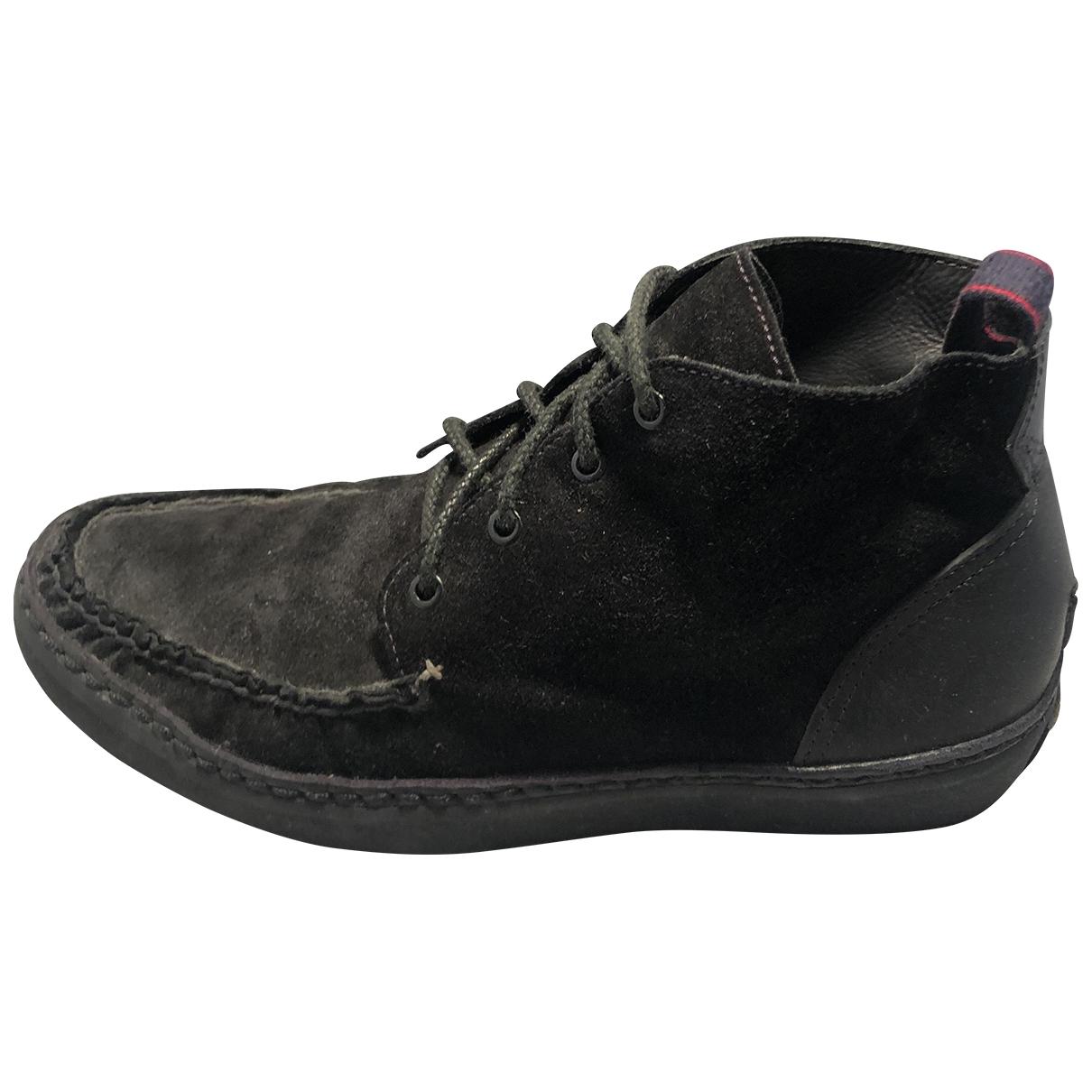 Rag & Bone \N Stiefel in  Schwarz Veloursleder