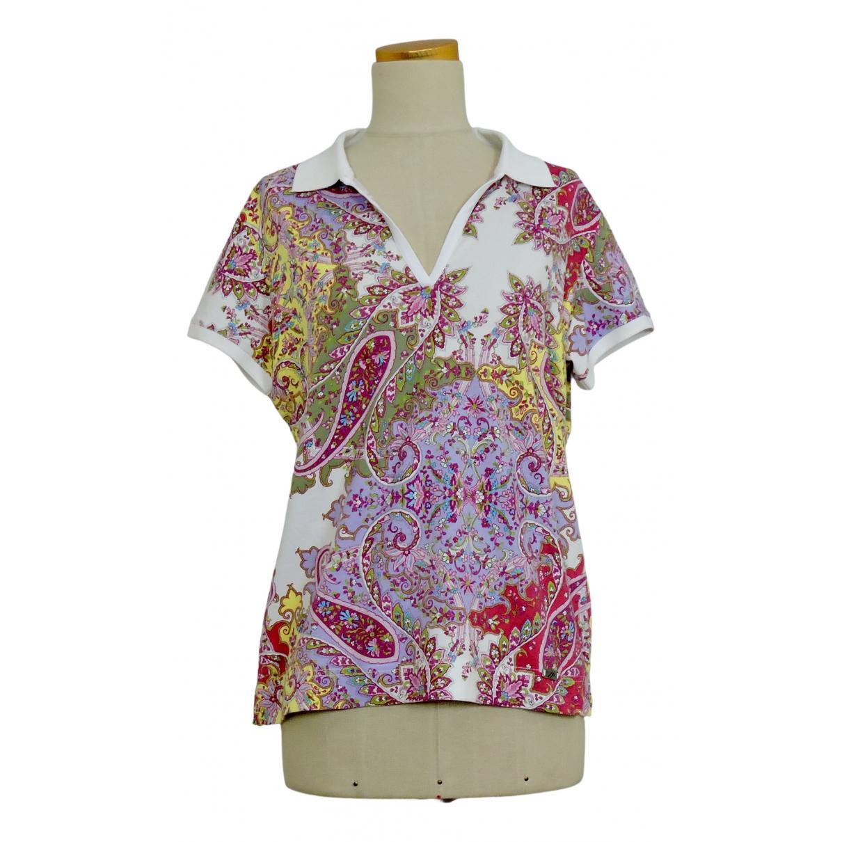 Bogner - Top   pour femme en coton - multicolore