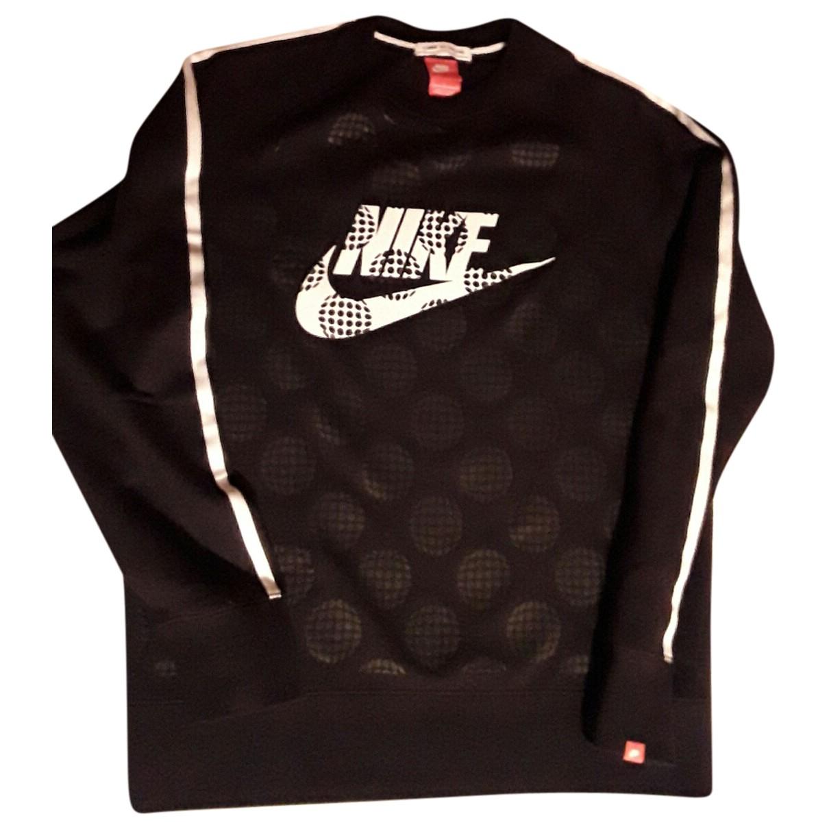Nike X Comme Des Garcons - Pulls.Gilets.Sweats   pour homme en coton - noir