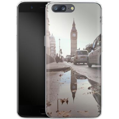 OnePlus 5 Silikon Handyhuelle - Double Ben von Ronya Galka