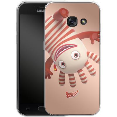 Samsung Galaxy A3 (2017) Silikon Handyhuelle - Sorgenfresser Saggo von Sorgenfresser