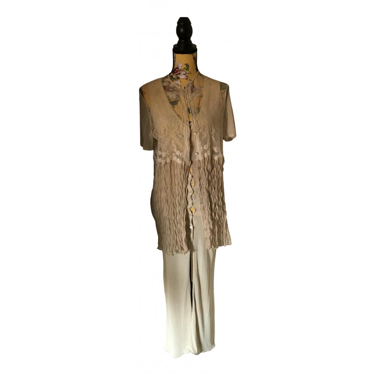 La Perla \N Kleid in  Beige Baumwolle - Elasthan