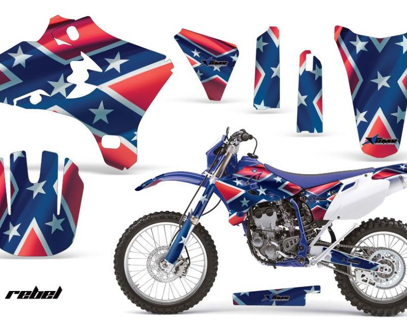 AMR Racing Dirt Bike Graphics Kit Decal Wrap For Yamaha WR250 WR450F 2005-2006áREBEL