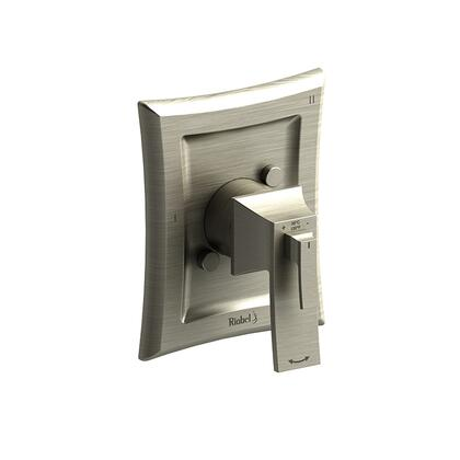 Eiffel EF45BN-SPEX 3-Way Type Thermostatic/Pressure Balance Coaxial Complete Valve Pex  in Brushed