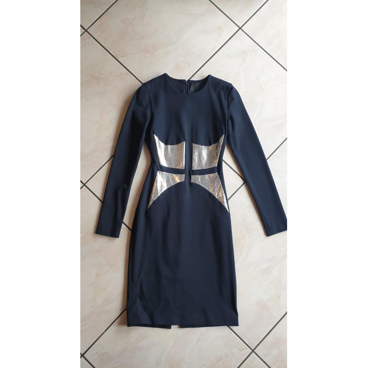 Cushnie Et Ochs \N Kleid in  Bunt Viskose