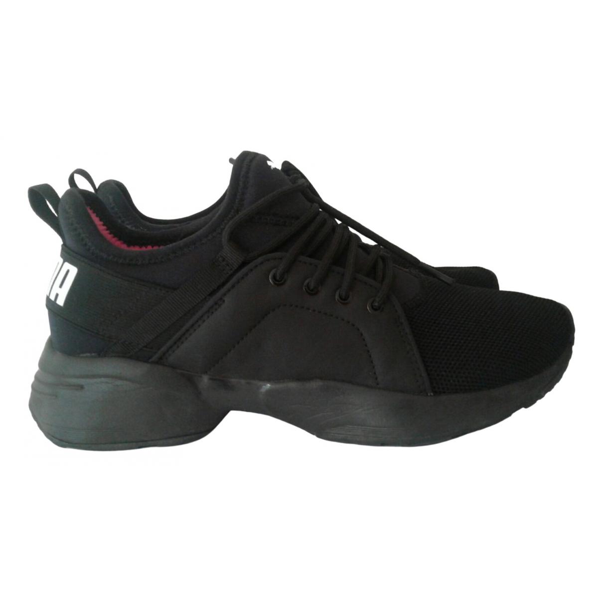 Puma - Baskets   pour femme - noir