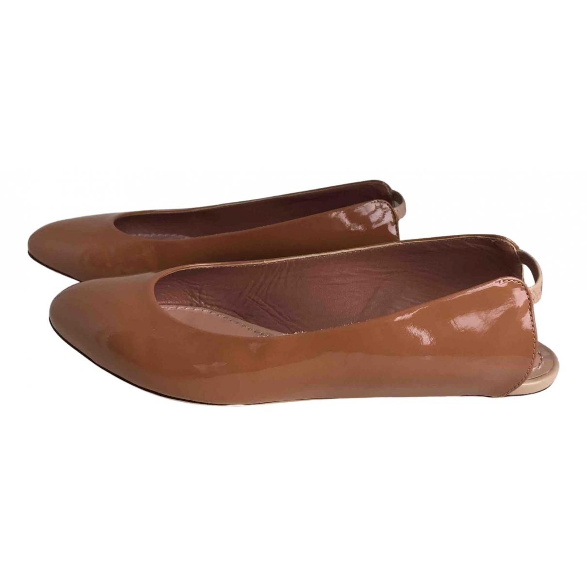 Marc Jacobs N Patent leather Ballet flats for Women 36.5 EU